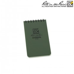 bloc notes CALEPIN 7.6X12.7 VERT pour support