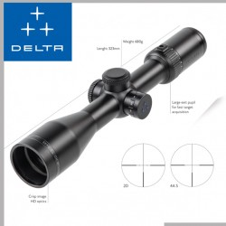 delta optical Titanium HD 1.5-9x45 Ultra Compact