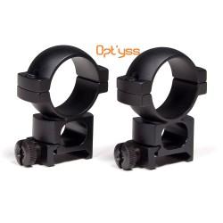 anneaux montage vortex hunter 1pouces ou 30mm