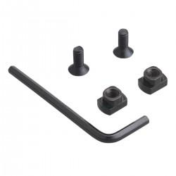 rail aluminium Picatinny 5 slots mlok m-lok