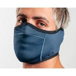 masque oakley bleu