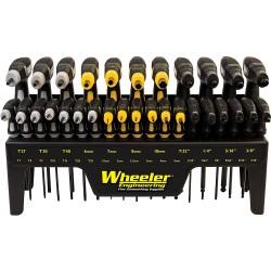 kit clé en T Wheeler Engineering  30 pieces
